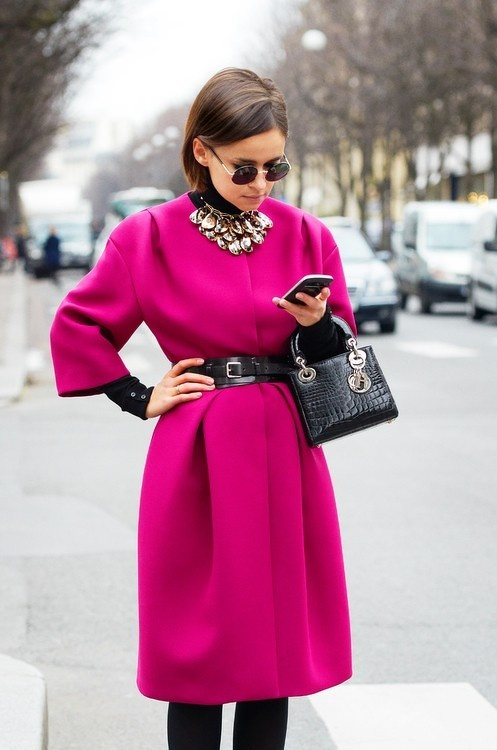 Pink Coat!