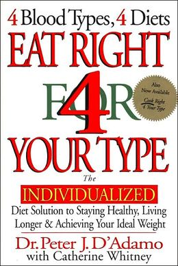 Eat Right 4 Your Blood Type