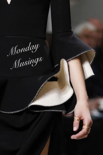A Monday Muse