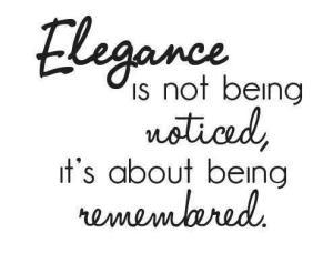 Elegance - edit