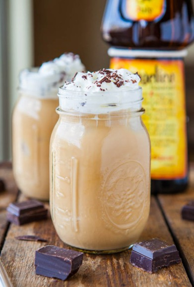 Boozy Iced Coffee- Averie Cooks