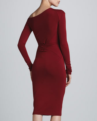 Donna Karen Red Dress Back #shopping #reddress red dress, Fashionista, Neiman Marcus #neimanmarcus