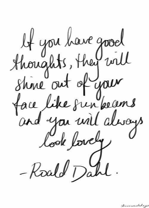 Roald Dahl, Inspiration, Inspire #inspiration, #inspire, #motivation, #RoaldDahl