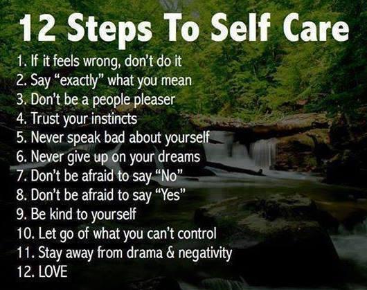 12 steps to me