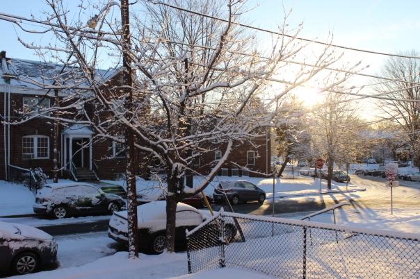 Daytime, #daytime, #snow, #snowy, #snowday, Snow day,