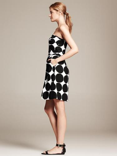 Banana Republic & Marimekko Polka Dot Dress #bananarepublic #shopping, banana republic, Banana Republic & Marimekko, Marimekko