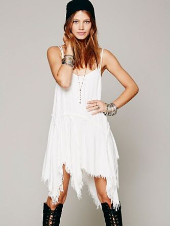 Free People Slip Dress, #dress, #whitedress, #freepeople